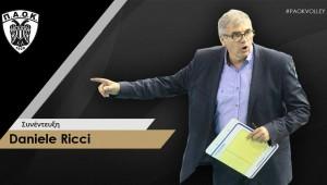 Daniele Ricci: Έχουμε πολύ δύσκολο και απαιτητικό πρόγραμμα