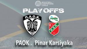 ΠΑΟΚ - Pinar Karsiyaka