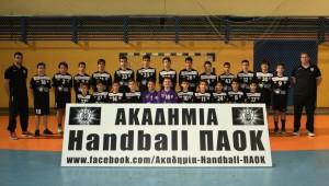 Ακαδημία Χάντμπολ Ανδρών: Κοπή Πίτας 2018
