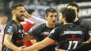 H βαθμολογία της Volley League