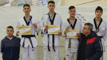 Aκόμα ένα μετάλλιο για το Τaekwondo