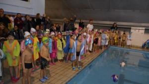 Χριστουγεννιάτικη Γιορτή Ακαδημίας Κολύμβησης Α.Σ. ΠΑΟΚ