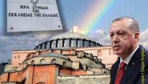 Η Ιερά Σύνοδος της Εκκλησίας της Ελλάδας για την Αγία Σοφία