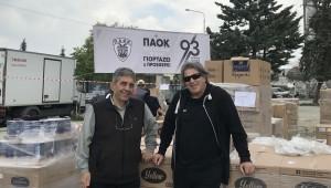 Ησαϊάδης: «Γιορτάζουμε τον ΠΑΟΚ, προσφέροντας βοήθεια στο συνάνθρωπο...»