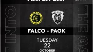 Falco Szombathely - PAOK BC