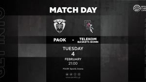 ΠΑΟΚ-Telekom Baskets Bonn