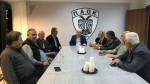 Επίσκεψη Φραγκοπούλου & Σταμπουλή στα Γραφεία του ΠΑΟΚ! (pics)