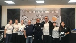 Συνέντευξη Τύπου: «1st PAOK Christmas Sports Festival»