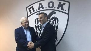 Επίσκεψη Ζέρβα στα γραφεία του ΠΑΟΚ! (pics)