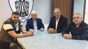 Παπαδόπουλος & Σταυρόπουλος στα Γραφεία του ΠΑΟΚ!