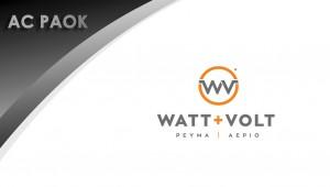 ΗΜΕΡΑ ΠΑΟΚ: Yποστηρικτής η WATT+VOLT!