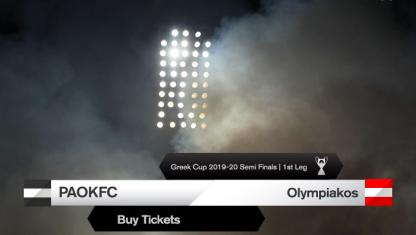 Τα εισιτήρια του ΠΑΟΚ-Ολυμπιακός