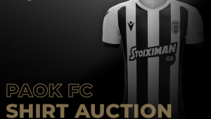 PAOK Action: Δημοπρασία με το Match worn shirts