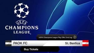 Τα εισιτήρια του ΠΑΟΚ-Μπενφίκα