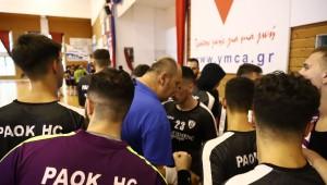 Ολοκλήρωσαν την παρουσία τους στο Πανελλήνιο Πρωτάθλημα οι έφηβοι χειροσφαίρισης