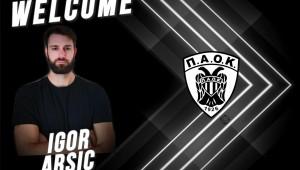 «Θωρακίζει» τα γκολπόστ με Igor Arsic ο ΠΑΟΚ