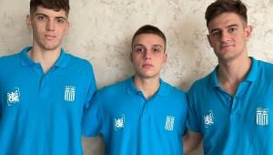 Πέμπτη στην Ευρώπη η Εθνική Εφήβων των τριών αθλητών του ΠΑΟΚ!
