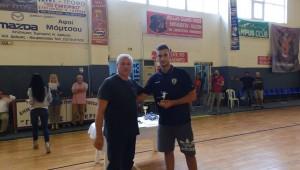 Καλύτερος τερματοφύλακας ο Μπαμπατζανίδης!