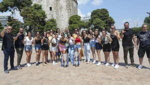 Στον Λευκό Πύργο το «νταμπλ» της γυναικείας ομάδας χάντμπολ του ΠΑΟΚ (pics)