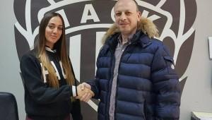 Η Αθηνά Κωστοπούλου στον ΠΑΟΚ Mateco!