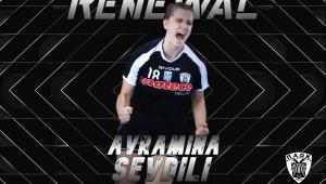 Για δεύτερη χρονιά στον ΠΑΟΚ Mateco η Αβραμίνα Σεβδίλη!