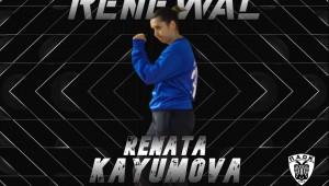 Συνεχίζει για δεύτερη χρονιά στα γκολποστ του ΠΑΟΚ Mateco η Renata Kayumova!