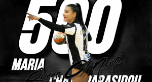 Έφτασε τα 500 τέρματα με τον ΠΑΟΚ Mateco η Μαρία Χατζηπαρασίδου!