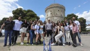 Photostory από την φωτογράφιση των «Κυπελλούχων» στον Λευκό Πύργο!