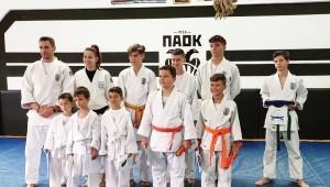 Πετυχημένες εξετάσεις ζωνών για τους μικρούς Judoka του ΠΑΟΚ (pics)