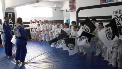 Κοινή προπόνηση για τους μικρούς judokas!