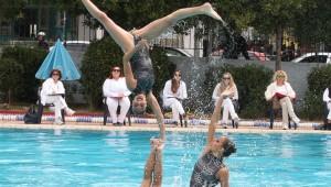 Στο Πανελλήνιο πρωτάθλημα καλλιτεχνικής κολυμβησης κορασίδων Ά, οι Κατσάρκα και Κορδώνη