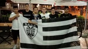 Τρίτος ο ΠΑΟΚ στο Πανελλήνιο Παίδων-Κορασίδων Πάλης!