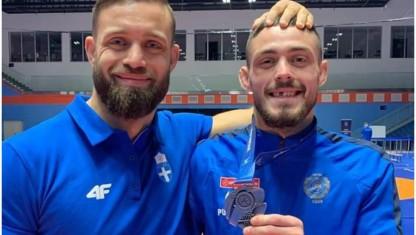 «Ασημένιος» στο Παγκόσμιο Πρωτάθλημα ο Άλεξ Κεσσίδης!