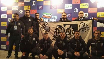 Παρουσίαση της ομάδας στο Isfahan