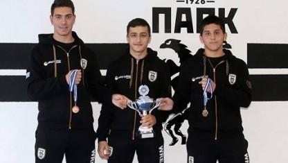 Σωτηριάδης και Ξούρας στο Βαλκανικό Πρωτάθλημα!