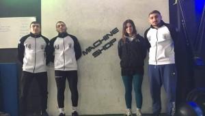 Συνεργασία με το Machine Shop Box για πέντε αθλητές της πάλης!