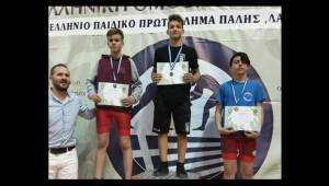 Διακρίσεις στο Πανελλήνιο Παιδικό Πρωτάθλημα Πάλης!