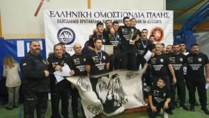 Πρωταθλητές Ελλάδος 2019 οι Έφηβοι της Πάλης!