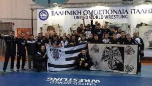 Πάλη: Πανάξιος Πανελλήνιος Πρωταθλητής ο ΠΑΟΚ!