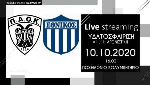 Live Stream: ΠΑΟΚ Prima Holidays-Εθνικός ΟΦΠΦ