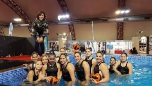 Στη Sportexpo οι μικρές αθλήτριες υδατοσφαίρισης!