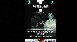 Το πρόγραμμα αγώνων του 1ου Κυπέλλου Πυγμαχίας του Α.Σ. ΠΑΟΚ!