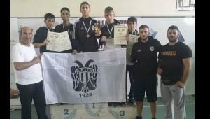 Πέντε μετάλλια για τον ΠΑΟΚ στο Πανελλήνιο Παίδων!