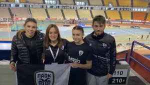 Ολοκληρώθηκε το Πανελλήνιο Πρωτάθλημα Κλειστού Στίβου με την συμμετοχή και του ΠΑΟΚ