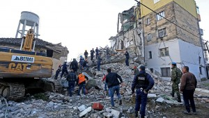 Το τμήμα Στίβου δίπλα στους σεισμόπληκτους της Αλβανίας!