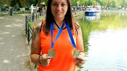 Αθλητικές επιτυχίες για την Έφορο στίβου Τάνια Κεραμυδά!