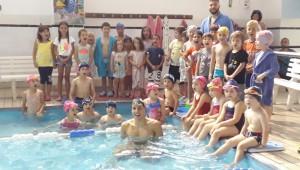 Ο Νίκος Σοφιανίδης στην Ακαδημία Κολύμβησης Τούμπας (pics)