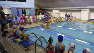 Αγιασμός και φωτογράφιση για την ακαδημία κολύμβσης Τούμπας