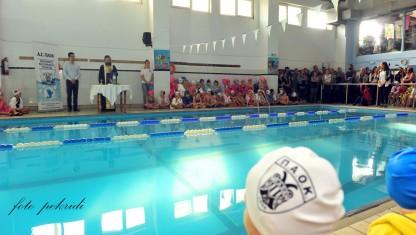 Αγιασμός και φωτογράφιση για την Ακαδημία Κολύμβησης Τούμπας!