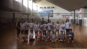 Λήξη του 1ου Summer Camp Volley!